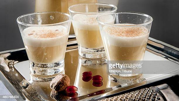 Italian egg and Marsala liqueur is rich and creamy like eggnog but light and more foamy Drink it in small glasses