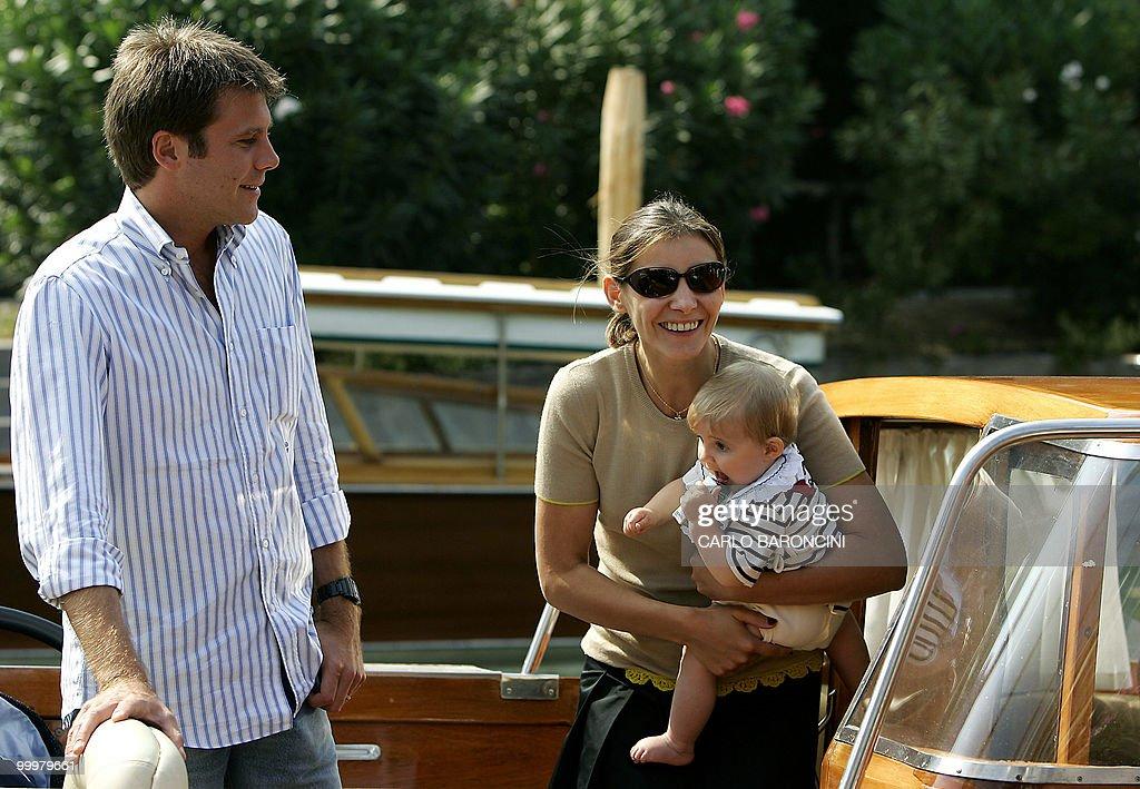 Italian Emanuele Filiberto Di Savoia (L) : News Photo