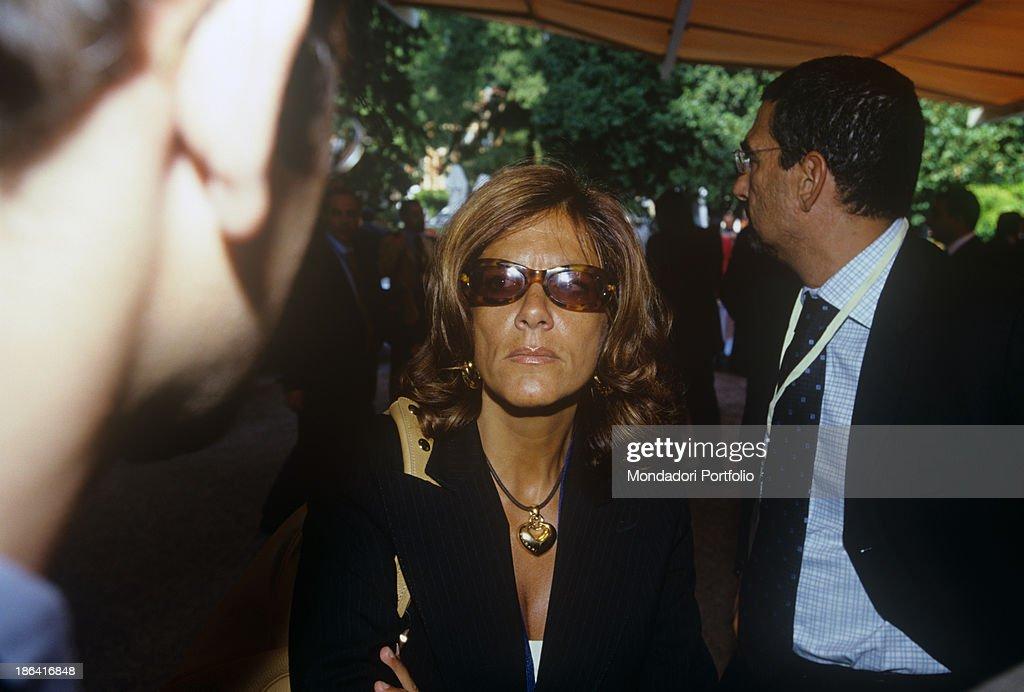 Emma Marcegaglia at the Ambrosetti Forum : News Photo