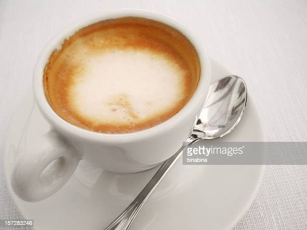 italian espresso with milk