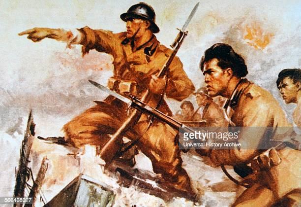 Italian fascist volunteers in Spain during the Spanish Civil War