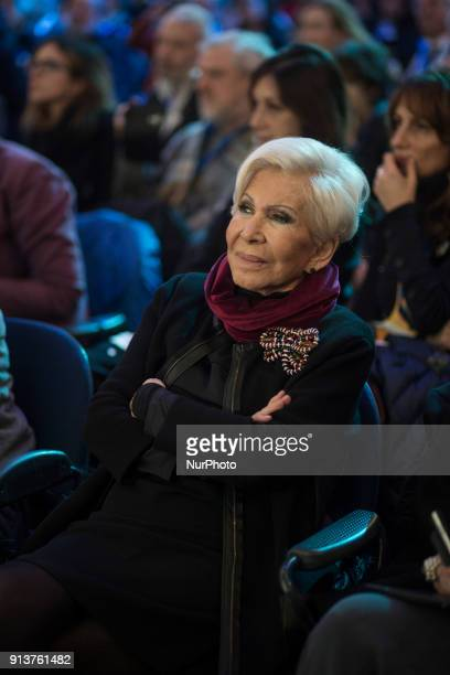 Italian fashion designer Anna Fendi takes part in the presentation ofEuropa party's election programme in Rome Italy February 3 2018On March 4...