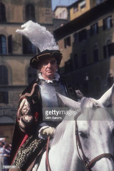 Italian Fashion Designer Emilio Pucci In Medieval Costume Florence News Photo Getty Images