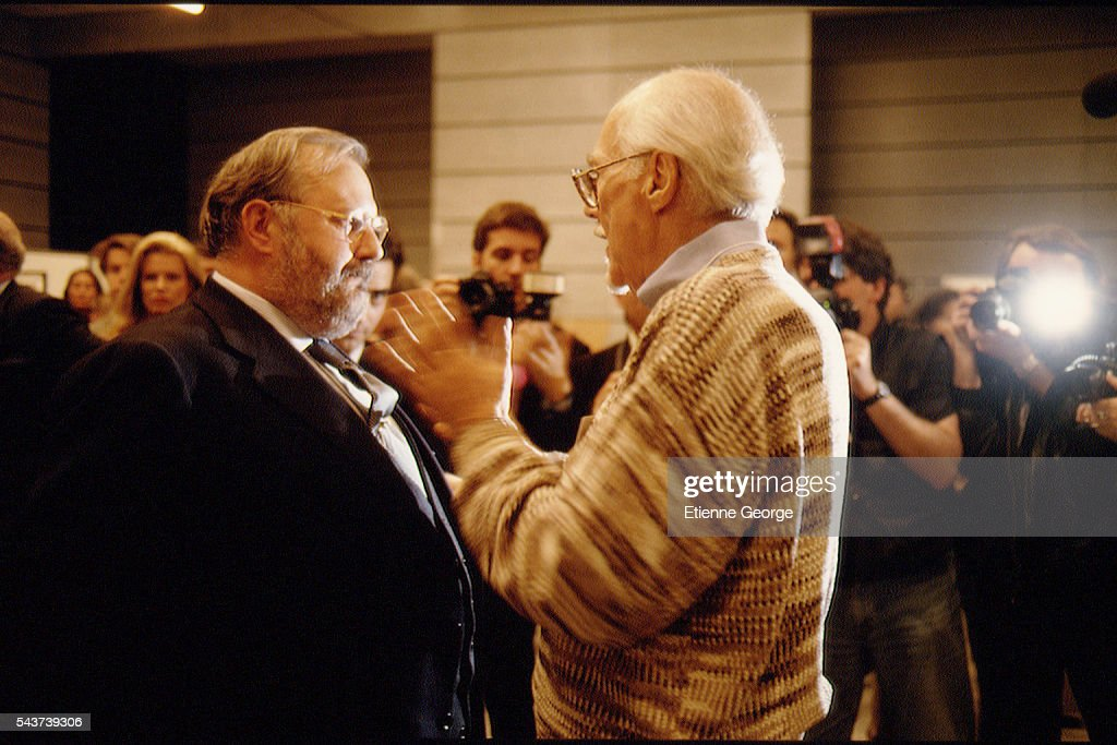 Italian Fashion Designer Gianfranco Ferre And Movie Director Robert News Photo Getty Images