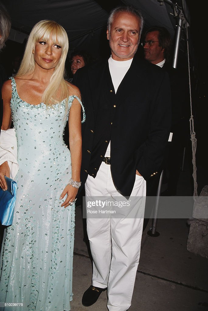 Gianni And Donatella Versace : News Photo