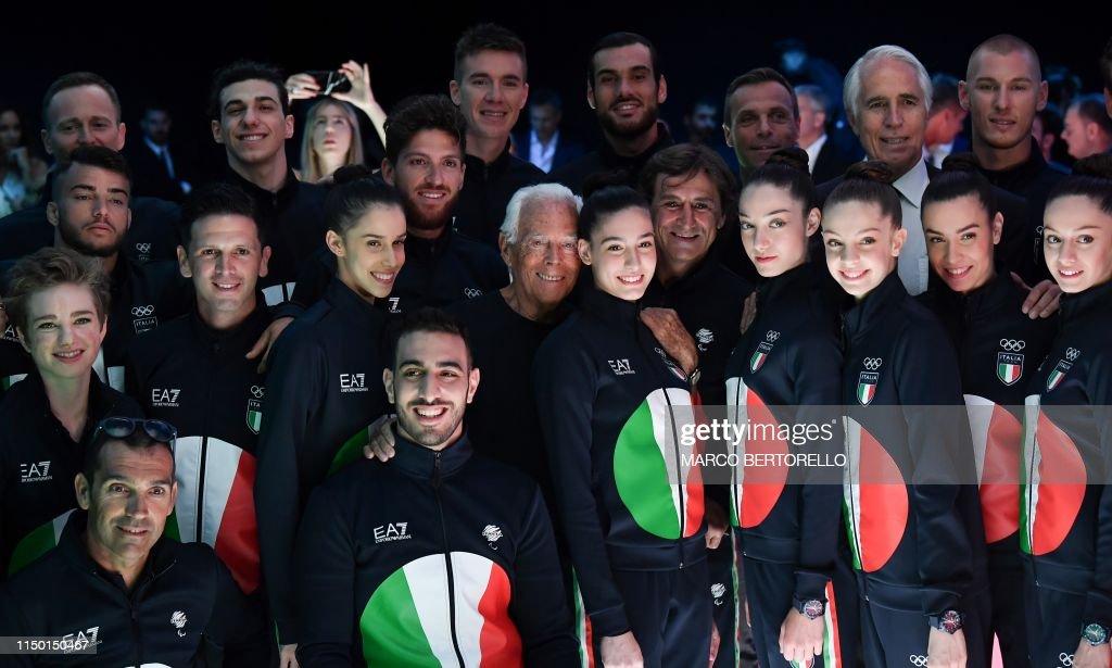 FASHION-ITALY-EMPORIO-ARMANI : News Photo