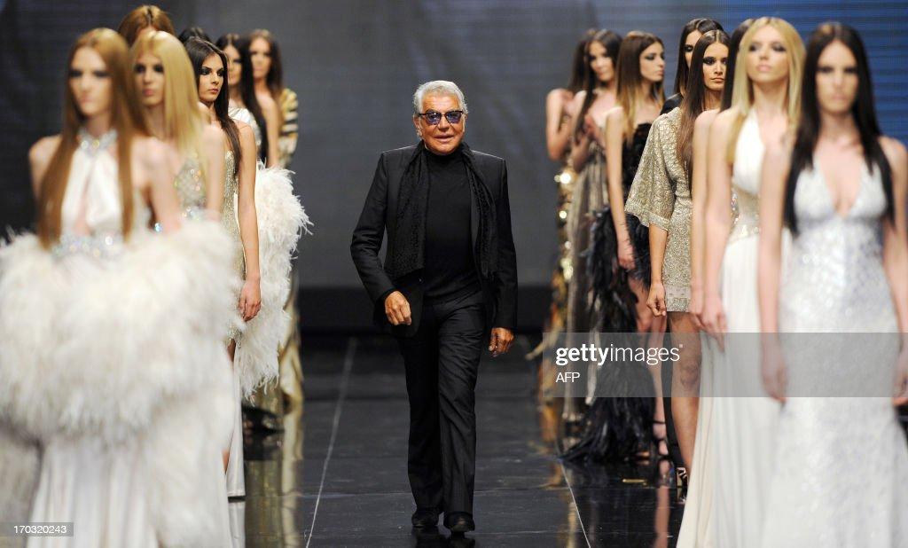 Italian Fashion Designer Roberto Cavalli Attends His Fashion Show On News Photo Getty Images