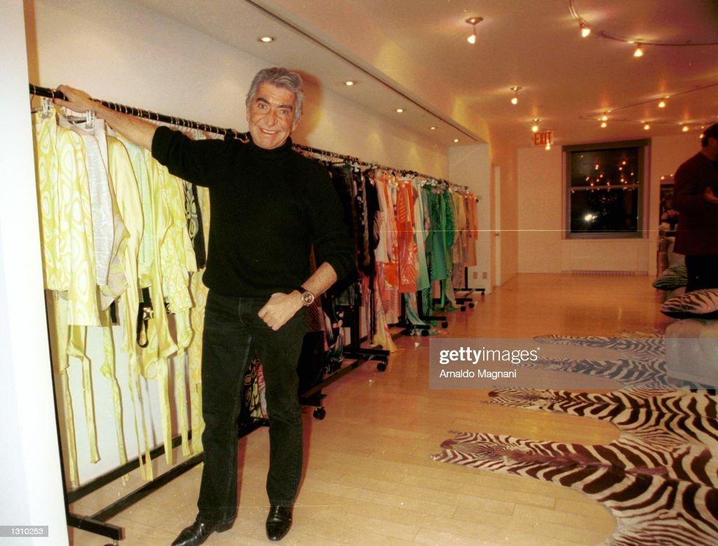 Italian Fashion Designer Roberto Cavalli Poses For A Portrait News Photo Getty Images
