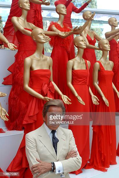 Italian fashion designer Valentino celebrates 45 years of activity :exhibition at the Ara Pacis Museum in Rome. Rome rolled out the red carpet to...
