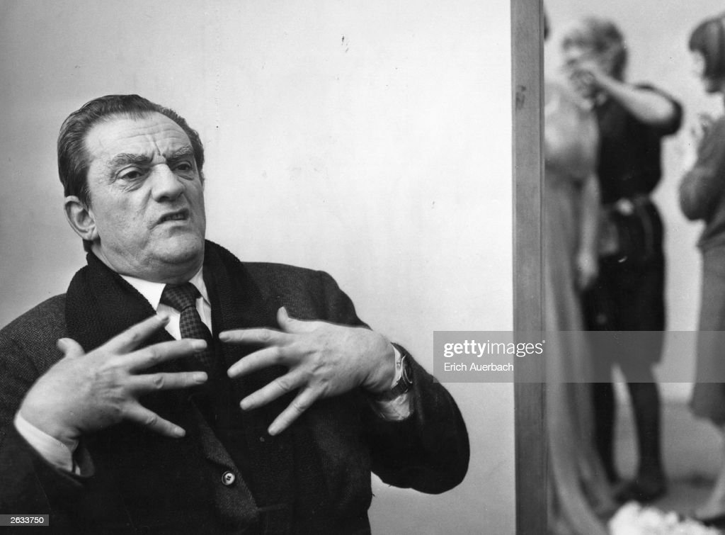 Italian film director and opera producer Count Luchino Visconti (1906 - 1976)at the Royal Opera House, Covent Garden, 20th March 1966. He is working on a production of Richard Strauss's comic opera 'Der Rosenkavalier'. Original Publication: People Disc - HM0586