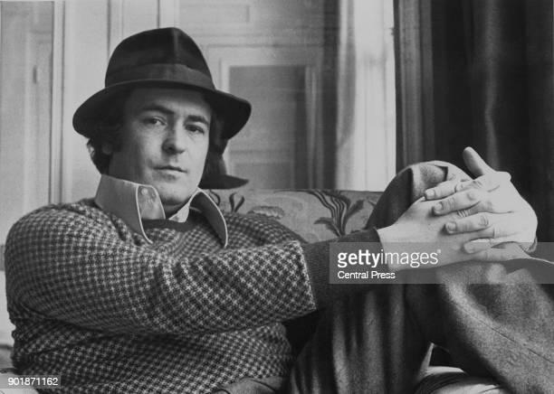 Italian film director Bernardo Bertolucci in London for the premiere of his film 'Last Tango in Paris' the next day 14th March 1973