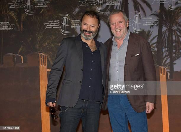 Italian Film director Ivano de Matteo and italian producer Fabio Conversi pose during the photocall of 'Balancing Act' at 12th International...
