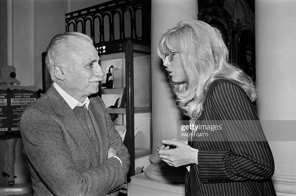 Italian film director Mario Monicelli (L : News Photo