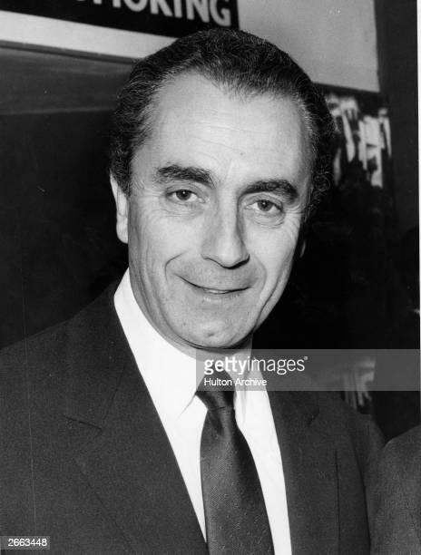 Italian film director Michelangelo Antonioni