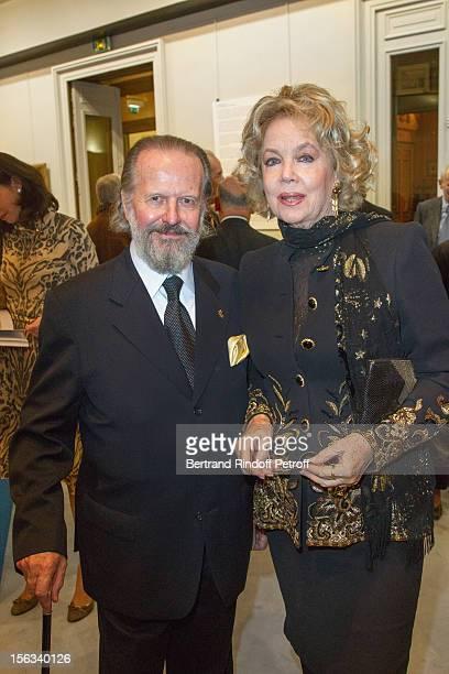 Italian financier ambassador Antonio Benedetto Spada and Edoarda Crociani attend the Royal House of BourbonTwo Sicilies Exhibition on November 13...