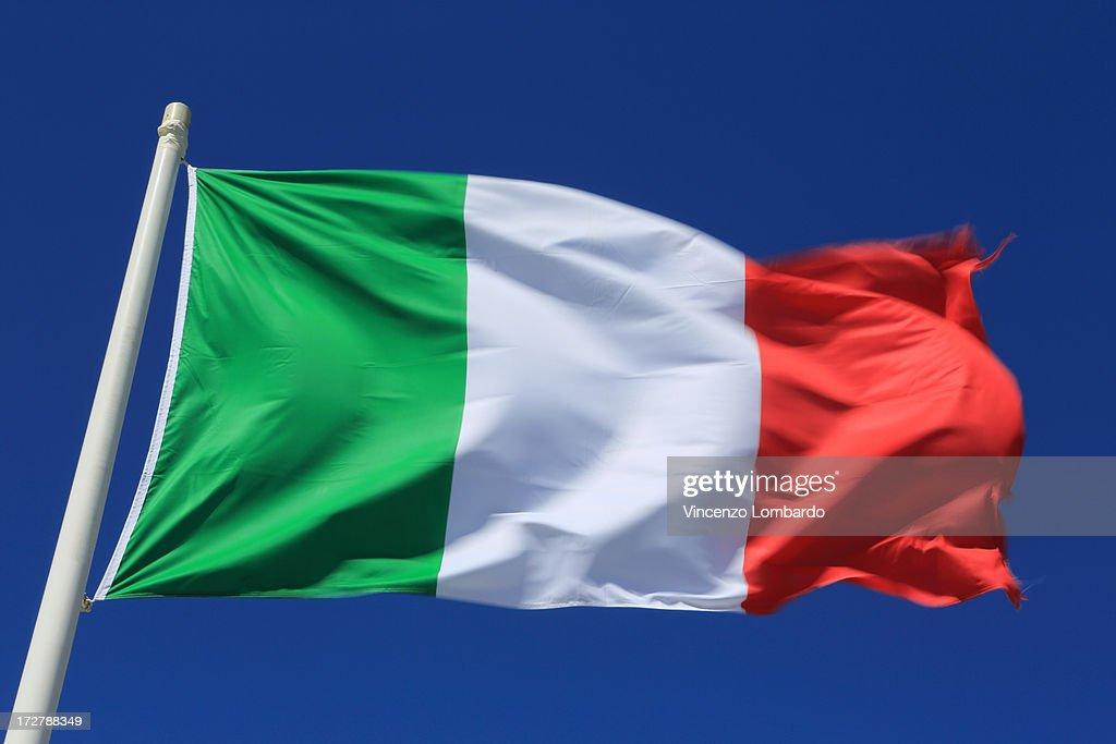 Italian flag : ストックフォト