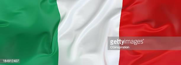 bandera italiana - bandera italiana fotografías e imágenes de stock