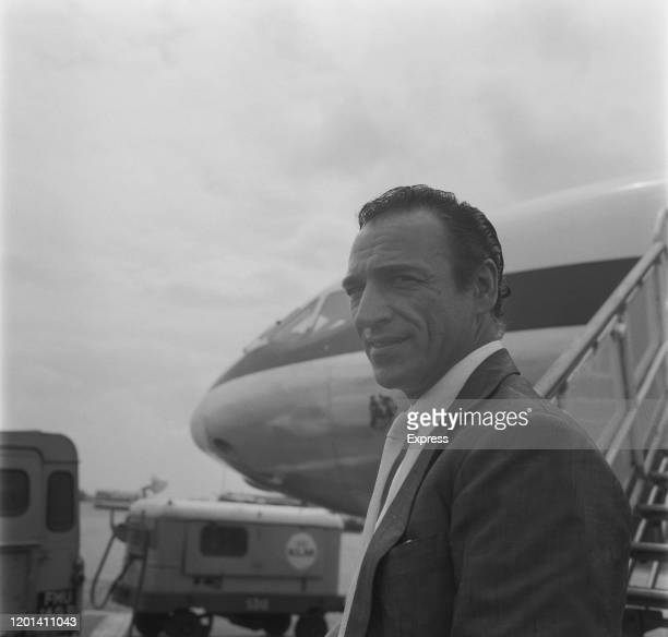 Italian flamenco dancer and choreographer Jose Greco at London Airport in London England 22nd July 1965
