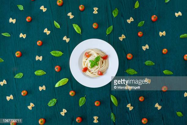 italian food conceptual still life - italian food stock pictures, royalty-free photos & images