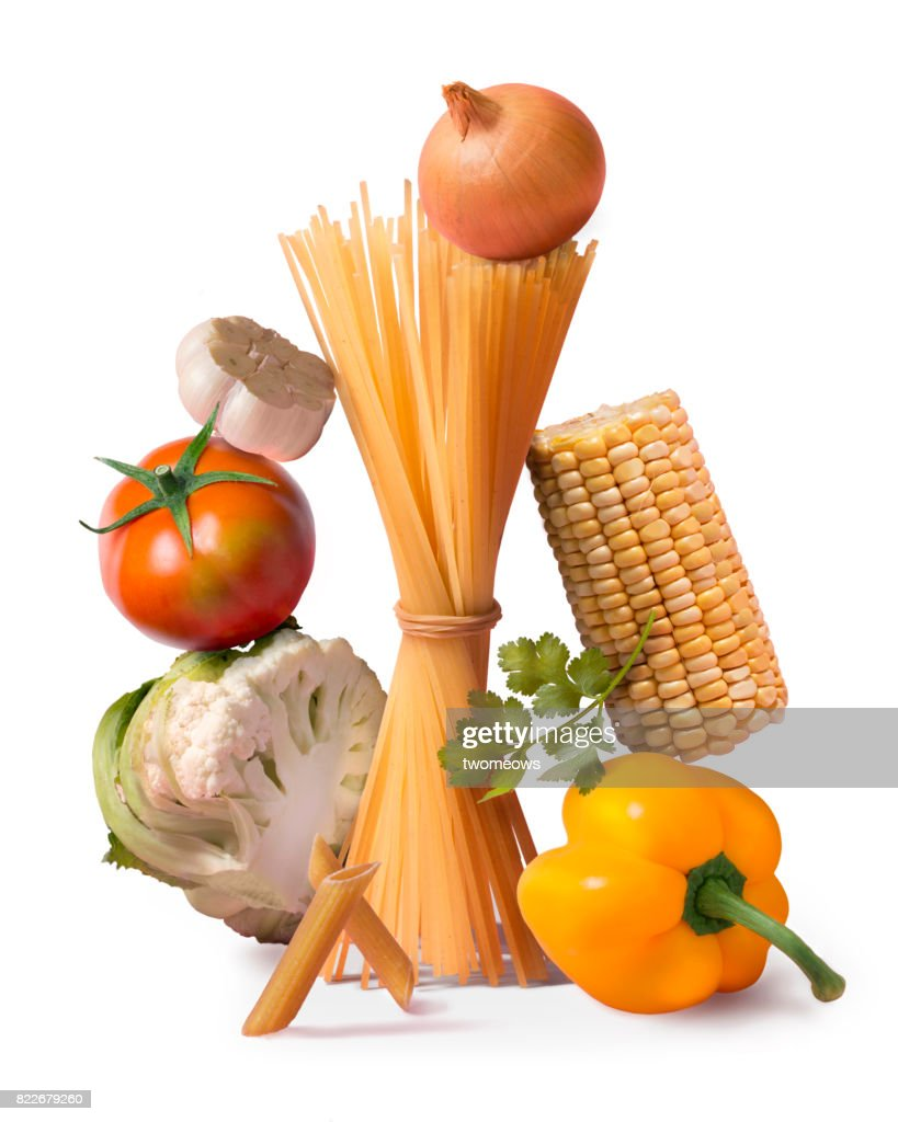 Italian food fresh ingredient still life. : Stock Photo