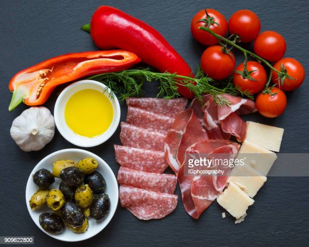 italian food - fat nutrient stock pictures, royalty-free photos & images