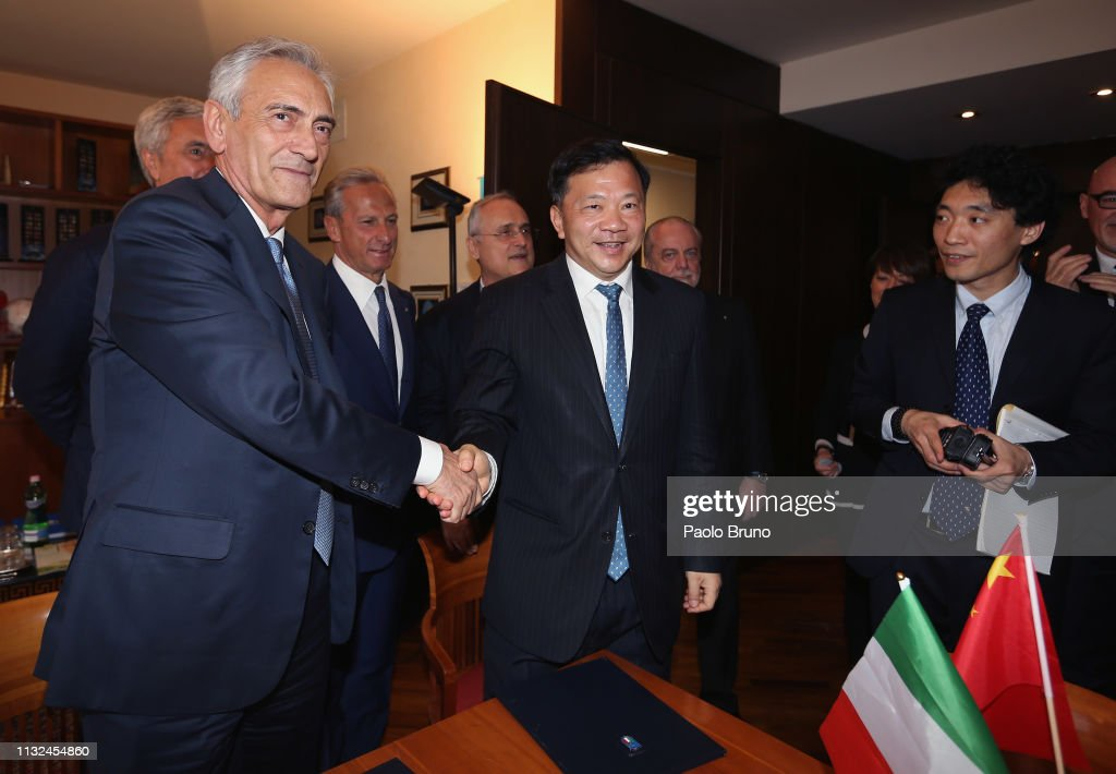 ITA: FIGC Signs A Deal With Chinese Football Federation