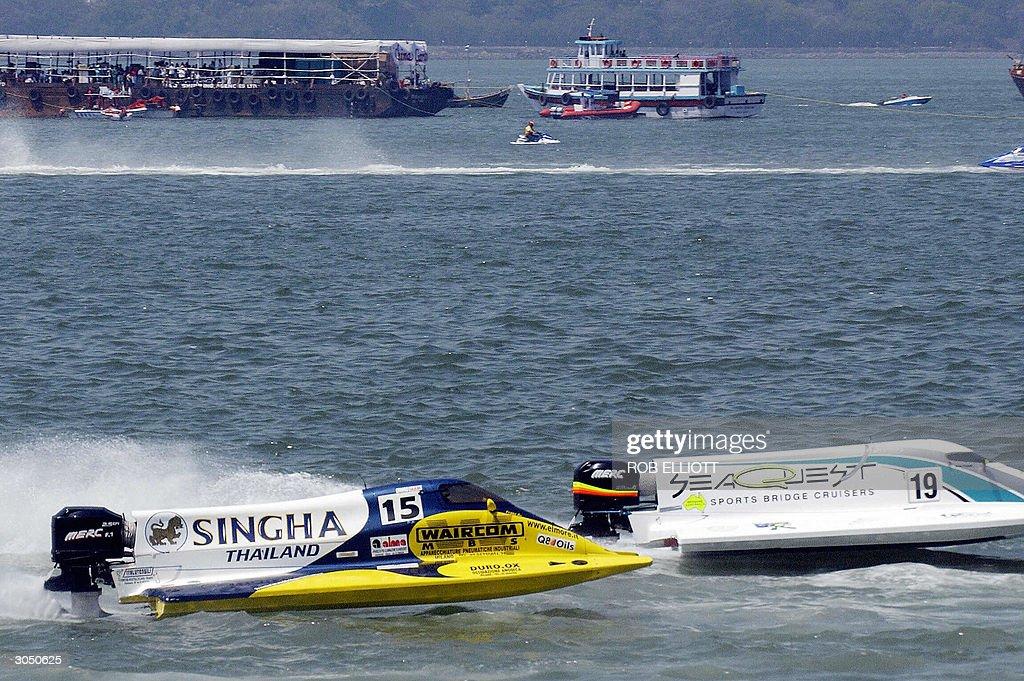Italian Francesco Cantando from the Singha F1 racing team in
