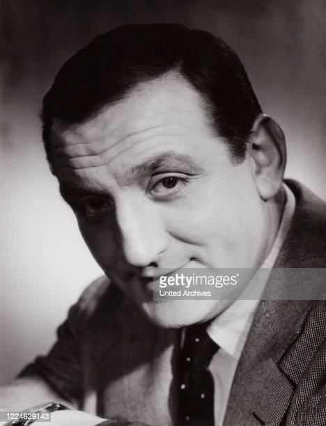 Italian French actor Lino Ventura Germany circa 1959