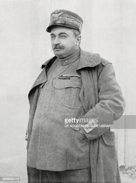 Italian General Luigi Capello commander of the Second Army Italy World War I from L'Illustrazione Italiana Year XLIV No 35 September 2 1917