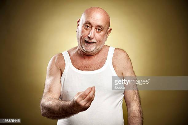 "italian gesture series: ""what?"" - gesturing stock pictures, royalty-free photos & images"