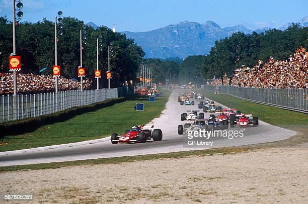 Italian GP Monza 1970 lap 1 Parabolica
