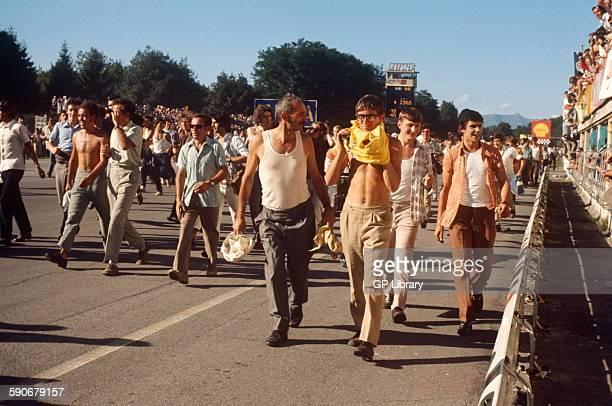 Italian GP Monza 6 September 1970 Tifosi fans