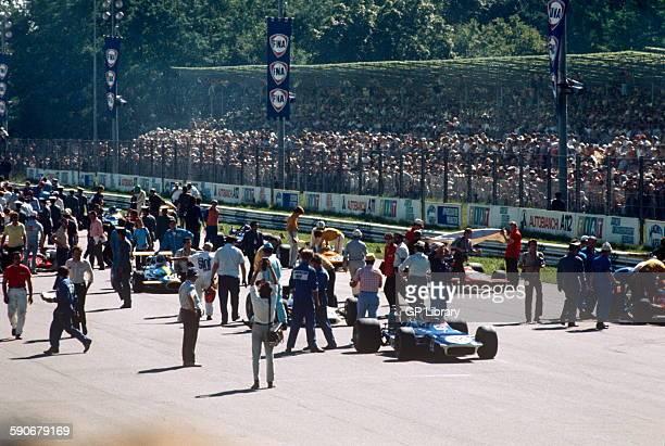 Italian GP starting grid 6 September 1970