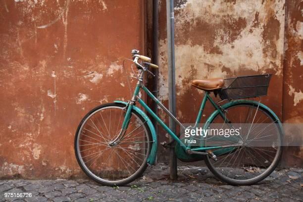 Italian green city bike, Italy, Rome