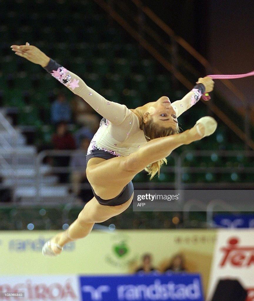 Italian gymnast Laura Zacchilli competes : News Photo