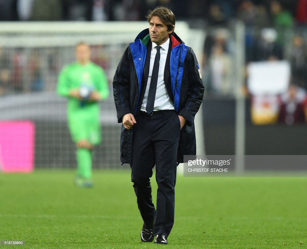 FBL-EURO-2016-FRIENDLY-GER-ITA : News Photo