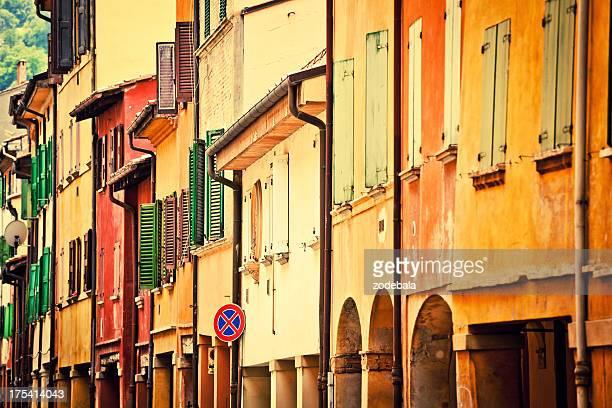 Italian casas en Bolonia, Italia