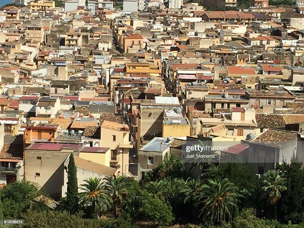 Italian Houses : Stock Photo