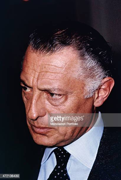 'Italian industrialist and politician Gianni Agnelli president of FIAT looking thoughtful February 1971 '