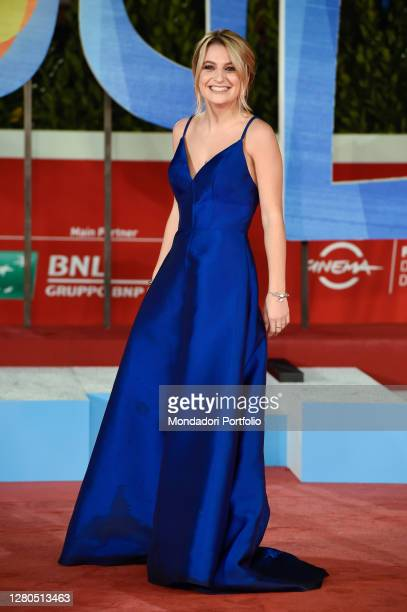 Italian influencer Marta Losito on the red carpet at the Opening Ceremony of the 15th Rome Film Fest 2020. Red Carpet Film Soul. Rome , October 15th,...