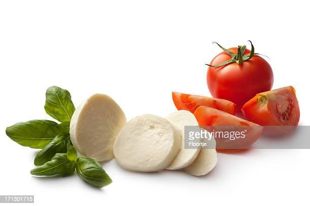Italienische Zutaten: Caprese-Salat