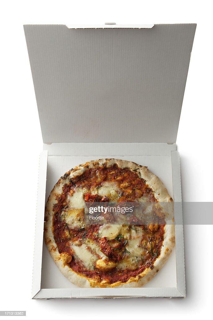 Italian Ingredients: Pizza : Stock Photo