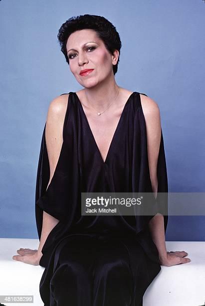 Italian jewelry designer Elsa Peretti, photographed in New York City in 1977.