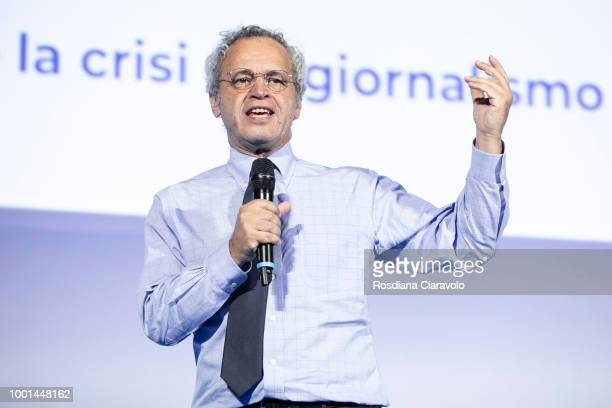 Cyber Illusionist Marco Tempest attends during Campus Party on July 18 2018 in Milan Italy