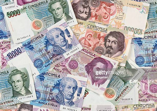 italian lira - italian currency stock pictures, royalty-free photos & images
