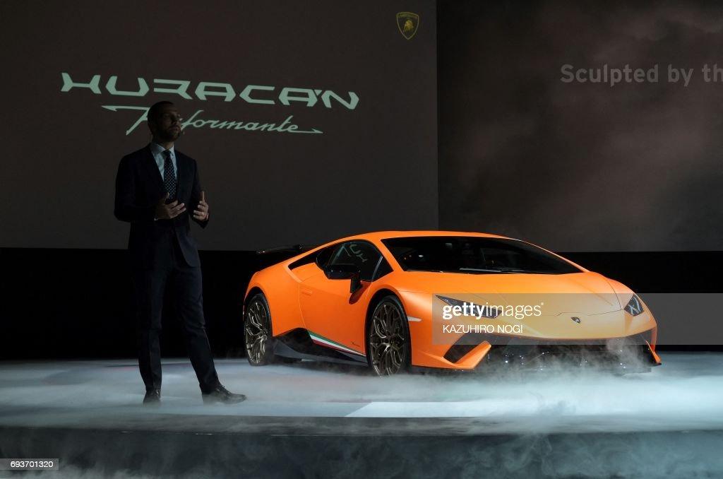 Italian Luxury Car Maker Automobili Lamborghini Japan Managing Director  Francesco Cresci Introduces The Companyu0027s New