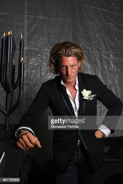 Italian manager and entrepreneur Lapo Elkann posing Milan September 28th 2007