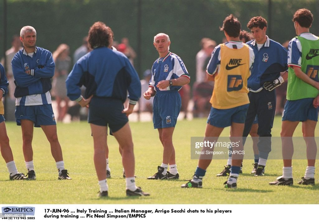Euro 96 Soccer - European Championships - Italy Training : News Photo