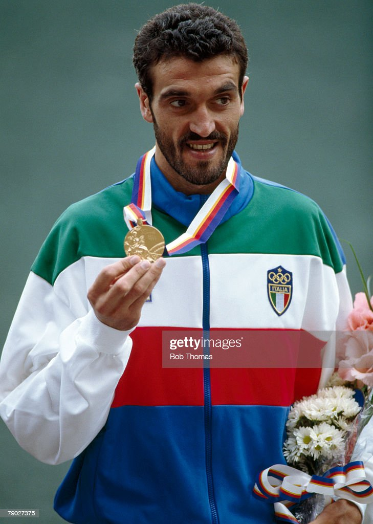Gelindo Bordin At XXIV Summer Olympics : News Photo