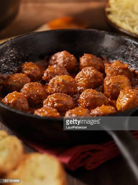 Polpette in salsa di pomodoro italiano